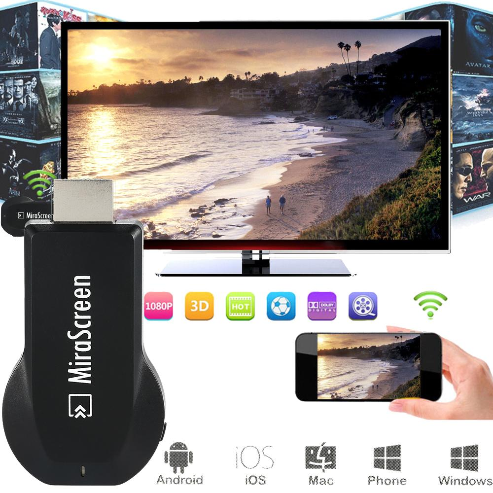 [Free Gift!] MiraScreen TV Stick Screen Mirroring DLNA Airplay Miracast Chromecast Anycast Android Apple Mirroring Device