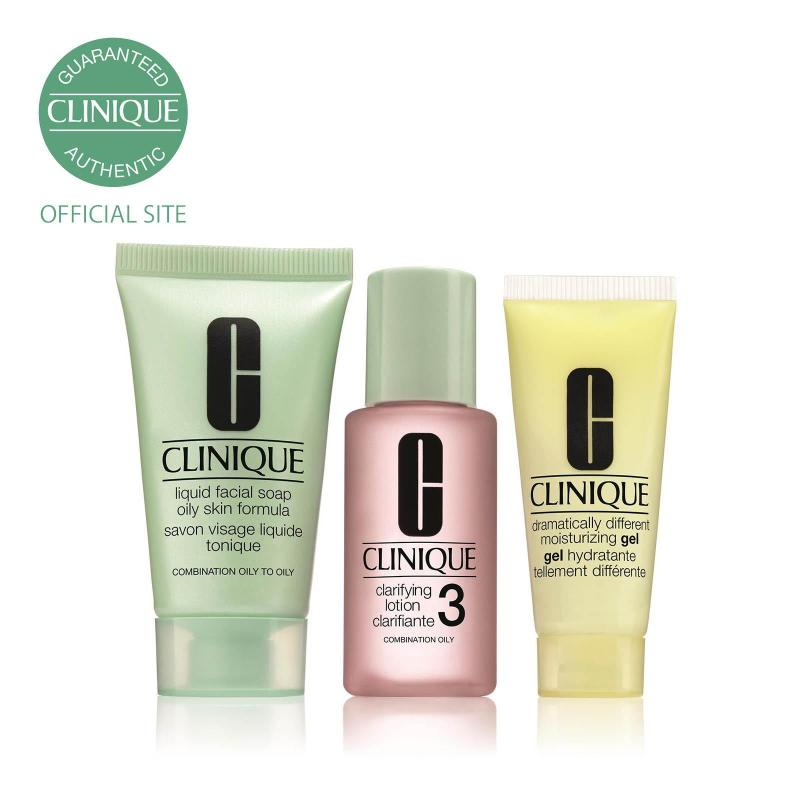 Buy Clinique 3 Step Introductory Set - Skin Type 3 100ml (Exclusive) Singapore
