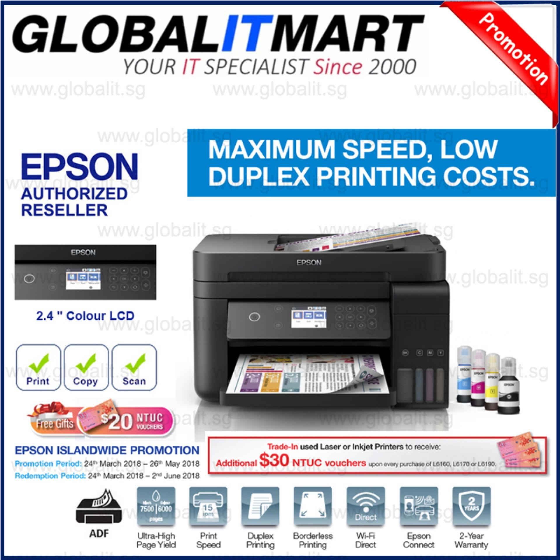 Big Deal Saving Surprise!! Epson L6170 Wi-Fi Duplex All-in-One Ink