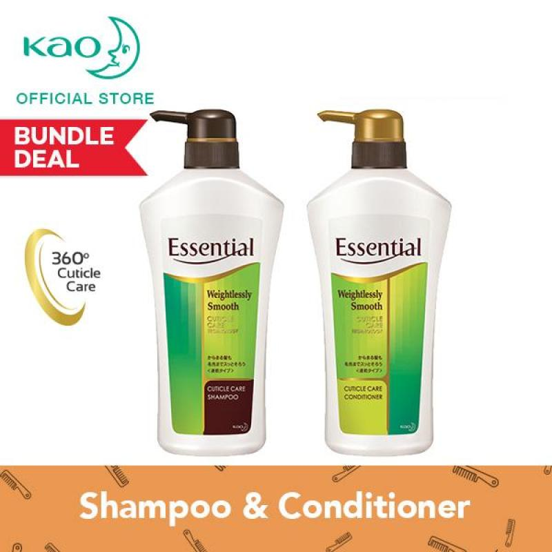 Buy Essential Weightlessly Smooth Shampoo & Conditioner 700ml Singapore