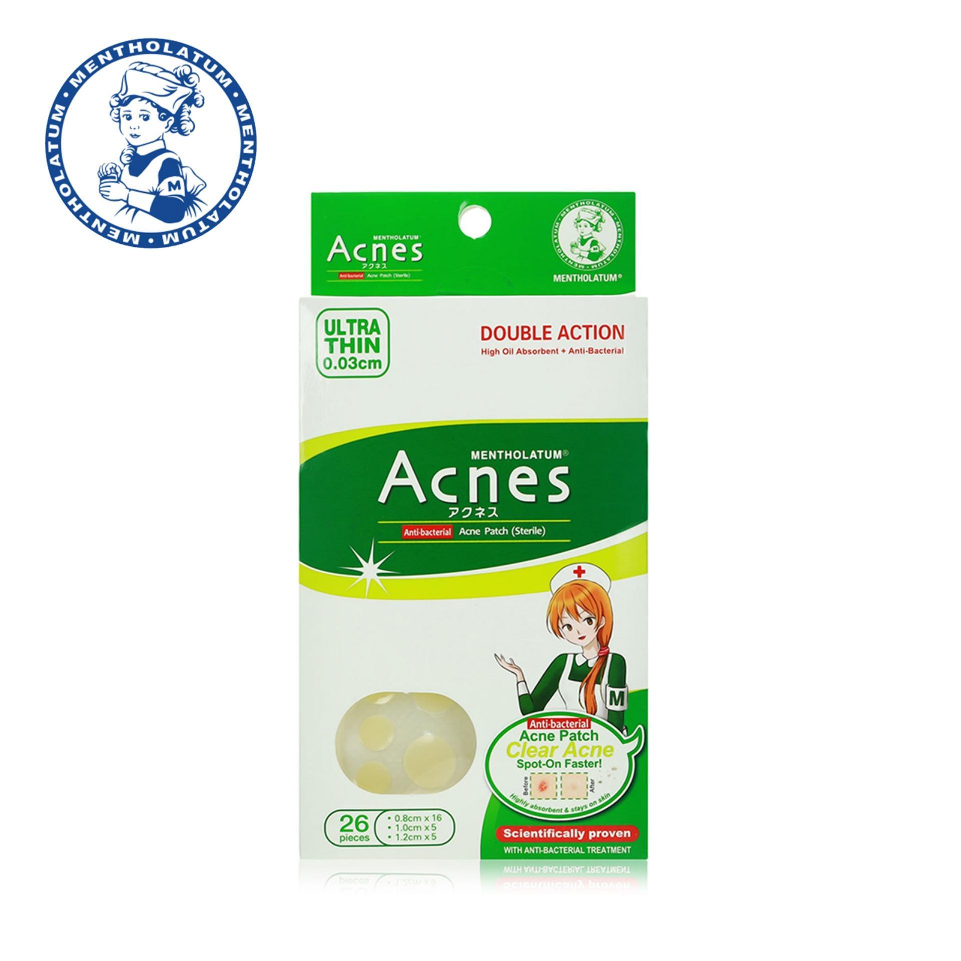 Promotions Catalogs Mentholatum Ointment 28g Acnes Sealing Gel Medicated Acne Patch 26pcs