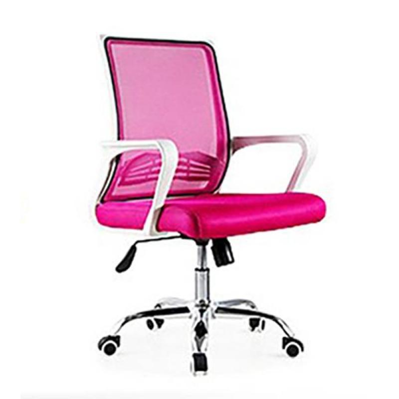 Bently Office Chair C20 (White Pink),delivery-weekdays before 6pm Singapore
