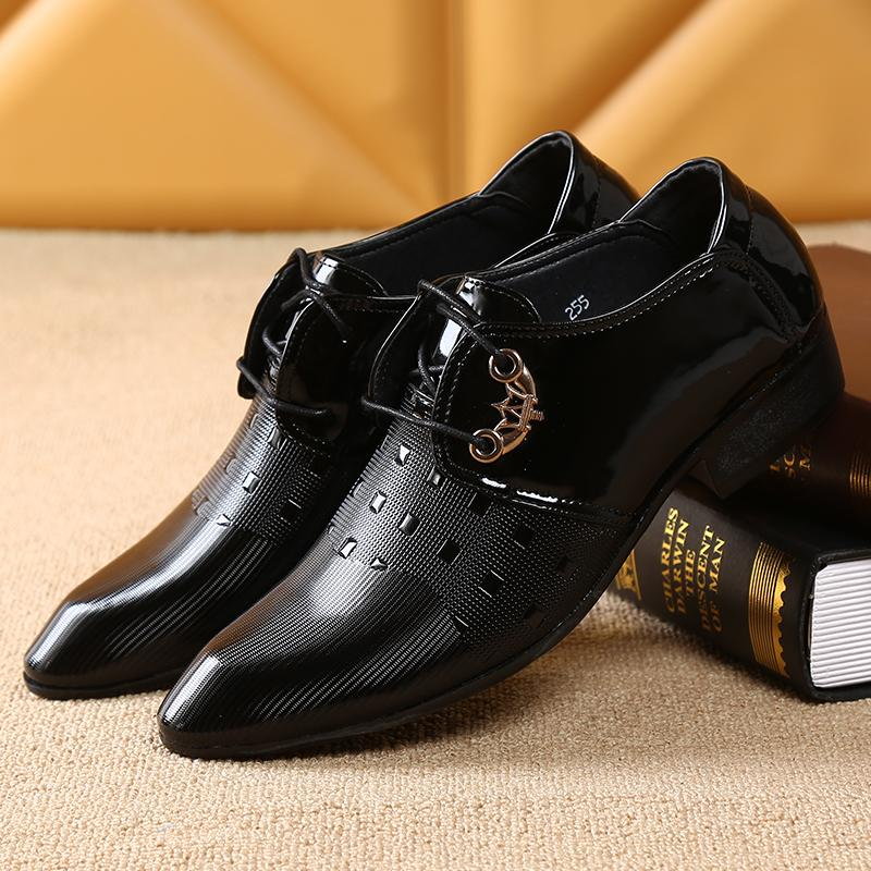 Versitile fashion male business tide shoes New style leather shoes