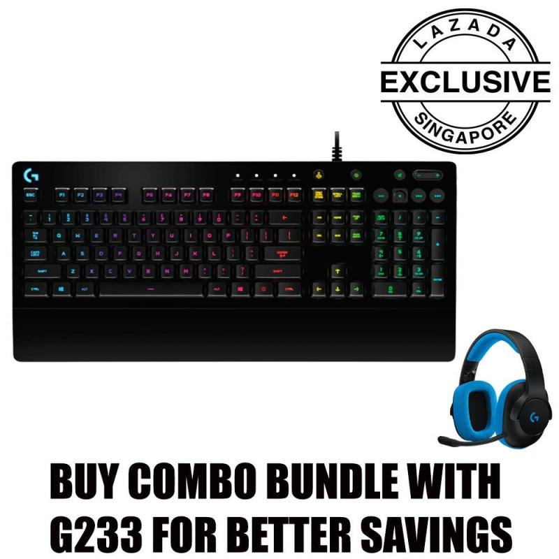 Logitech G213 Prodigy Gaming Keyboard (Online Exclusive) Singapore
