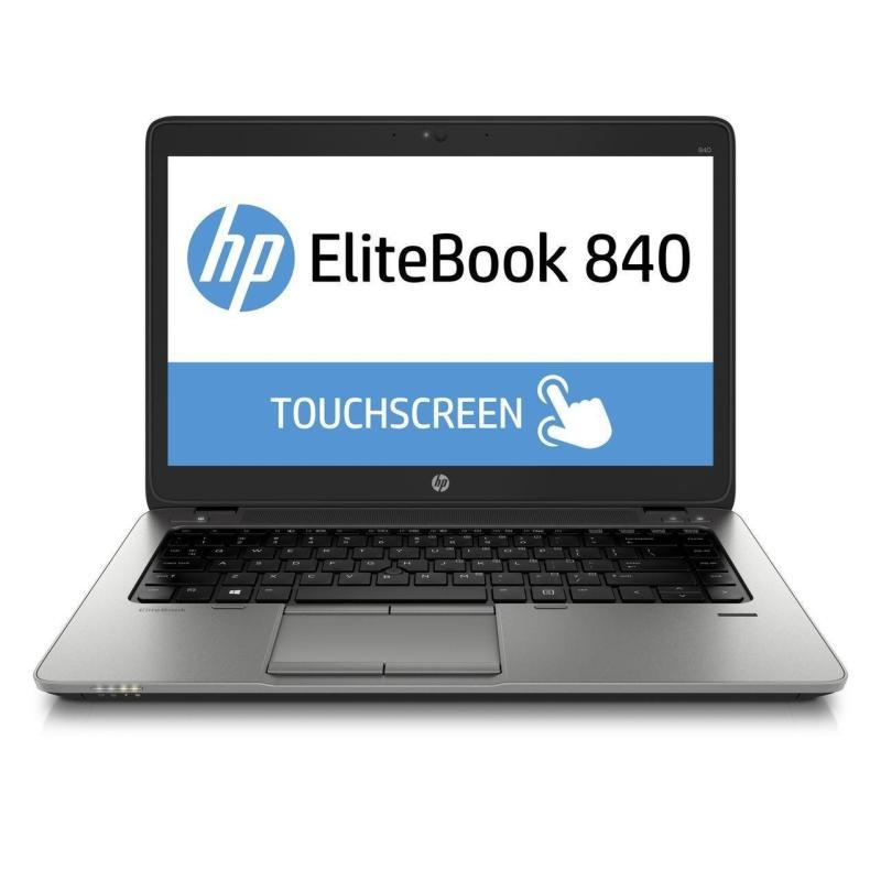 (Refurbished) HP EliteBook 840 Touchscreen Core i5-4300u 1.9GHz 8GB 256GB SSD 14 1600 x 900 pixel, Windows 10 Pro