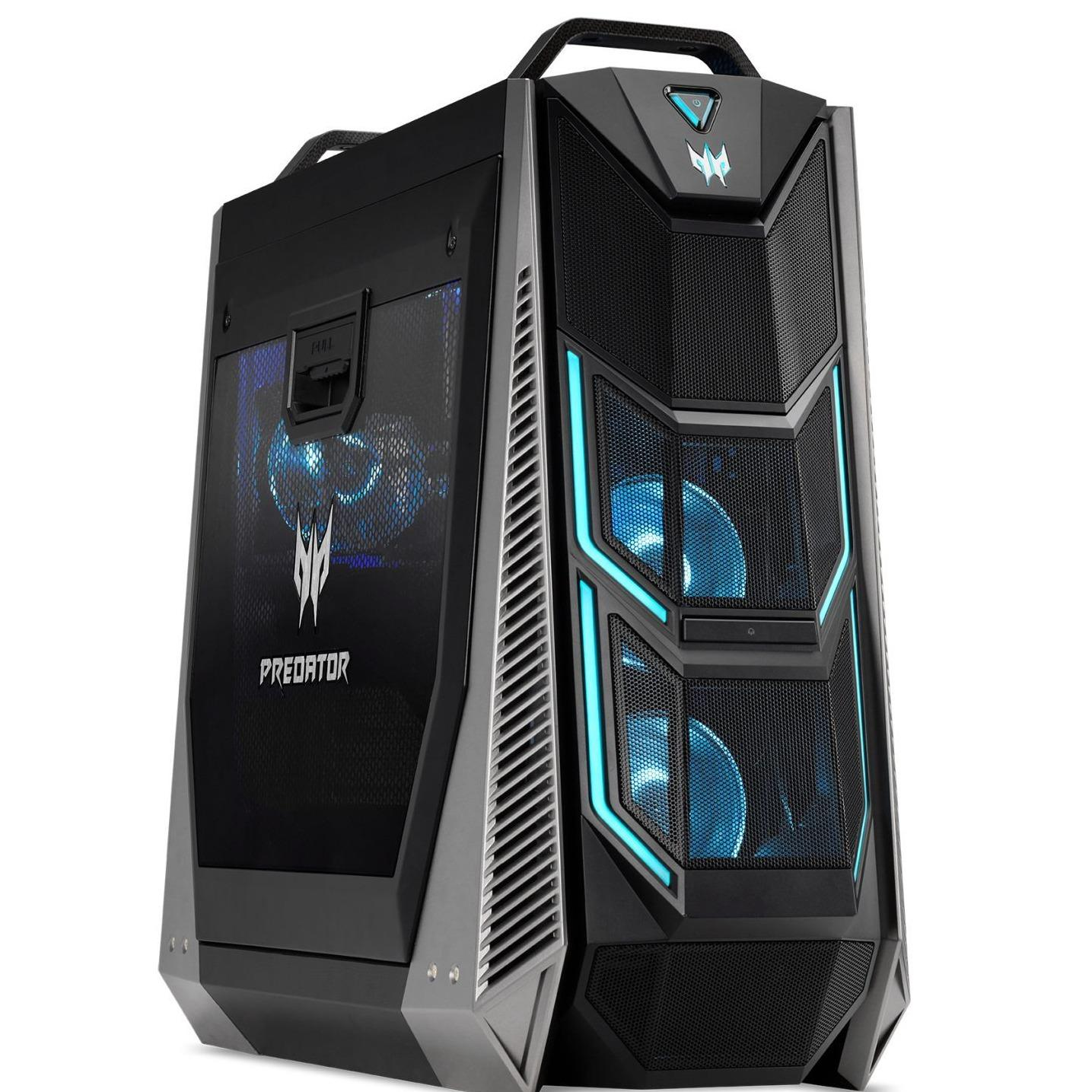 ACER Predator PO9 600 i787MR322T08 i7 8700K 32GB DDR4 RAM Gaming Desktop Black