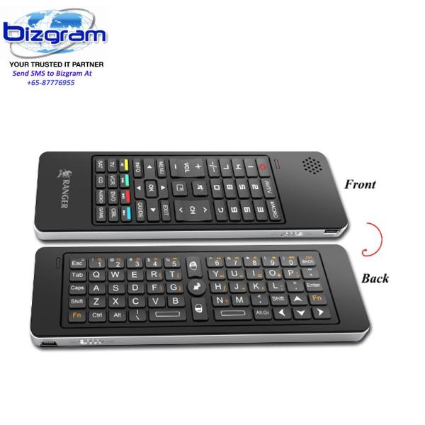 Ranger Smarty Remote Keboard 2.4Ghz Wireless/Air Mouse/IR Remote/Voice Chat RG2ACKB850K Singapore