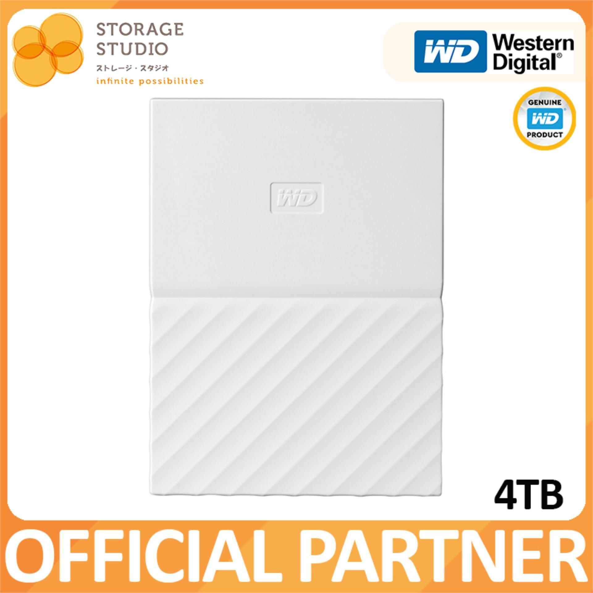 WD MY PASSPORT 4TB USB3.0 Portable Storage