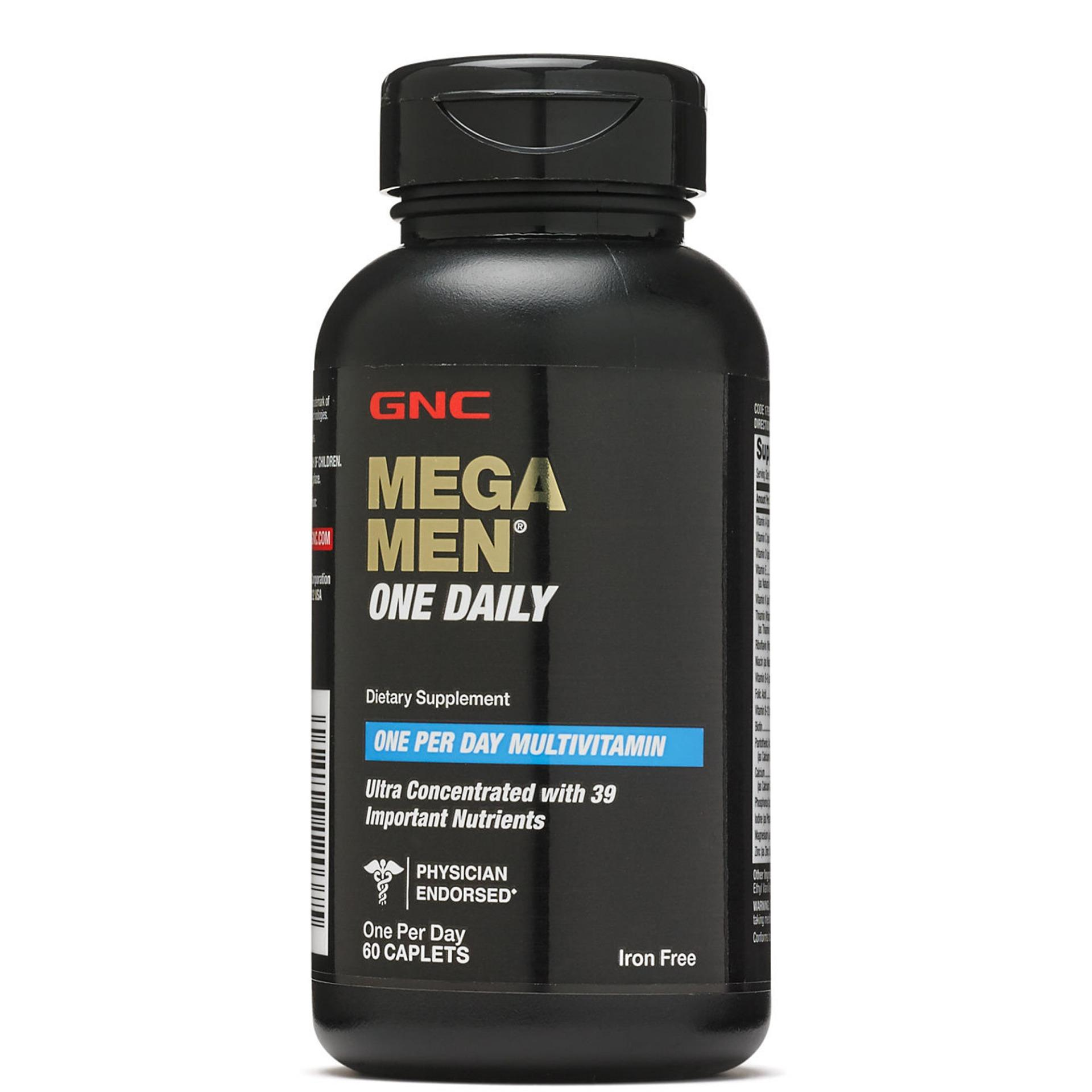 GNC Mega Men One Daily 60 Caplets