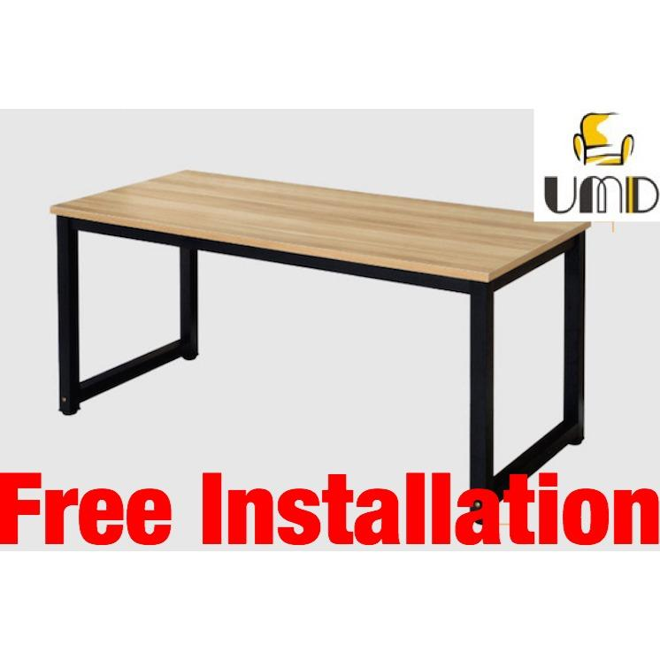 UMD (100L*50D*75Hcm) study table study desk computer table computer desk