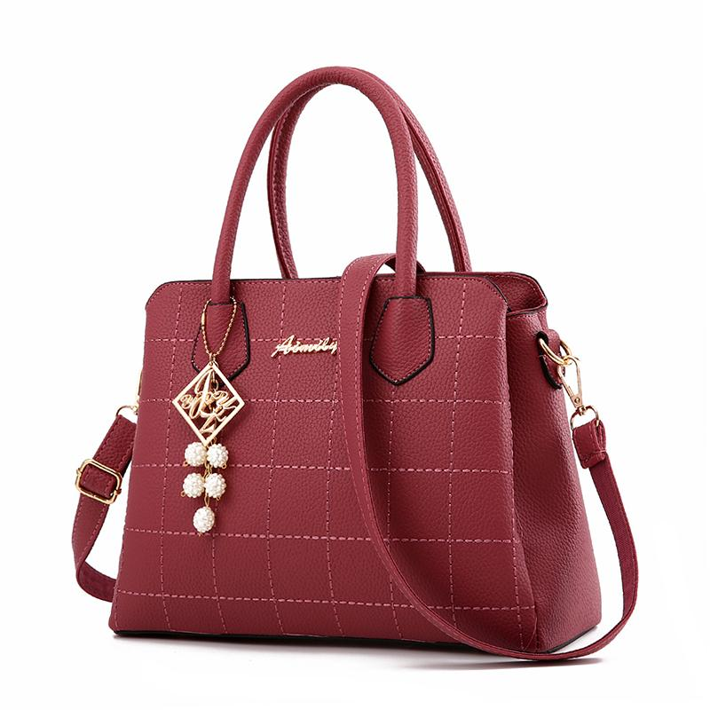 European and American fashionable pebbled leather Shoulder bag bags ladies bag