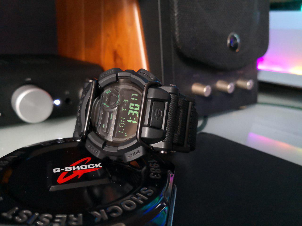 Casio G-Shock Men's Black Resin Strap Watch GD400MB-1D | Lazada Singapore