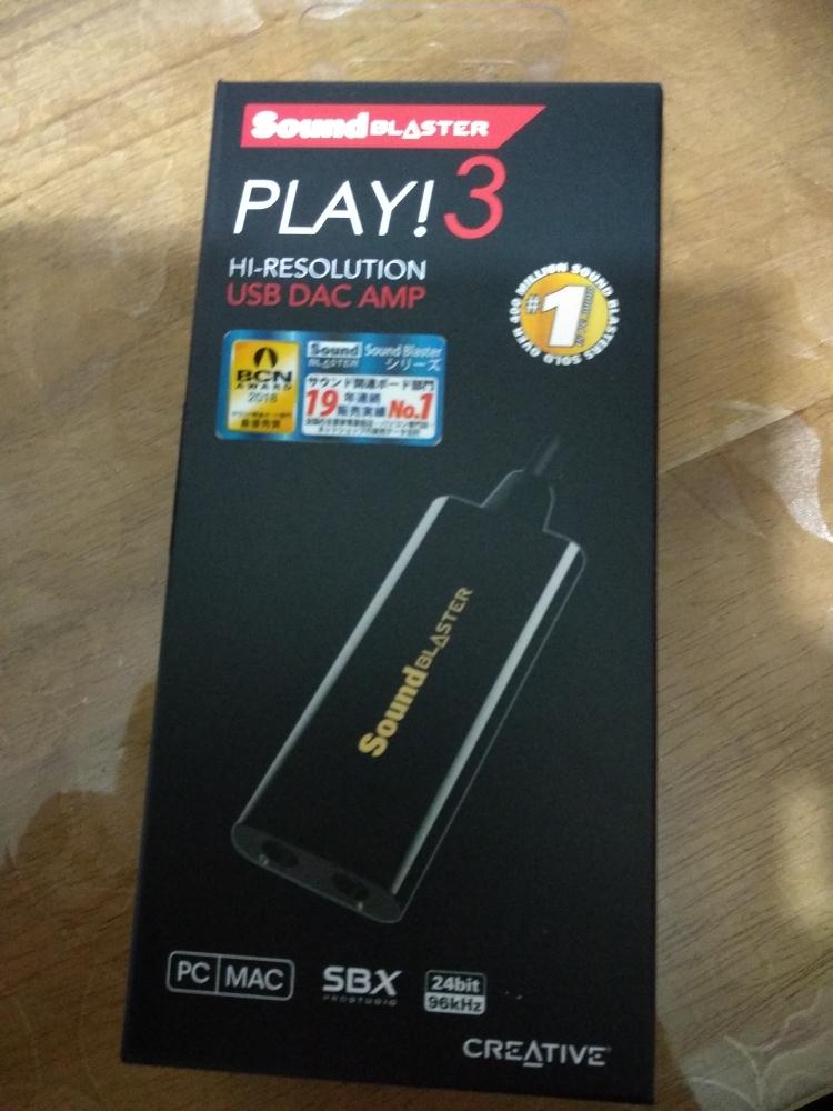 Creative Sound Blaster Play! 3 - USB DAC AMP & External Sound Card