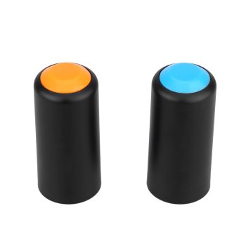 2 Colors Screw On Cap Cup Cover for Shure PGX Wireless Handheld Mic Microphone (EXPORT)