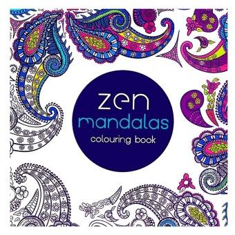 Children Adult English Zen Mandalas Treasure Relax Coloring Book