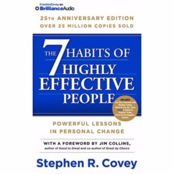 Harga 7 Habits Of Highly Effective People 25th Ann.