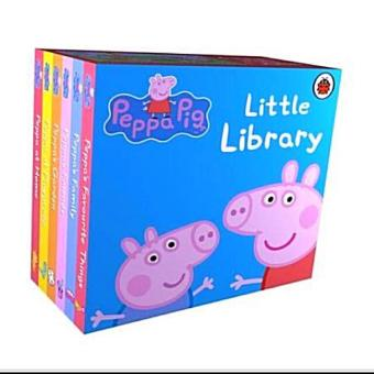 Harga Peppa Pig Little Library (6 Books)