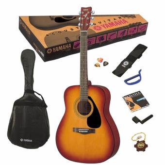 Harga Yamaha F310P TBS Acoustic Guitar Package (TBS - Brown Sunburst)