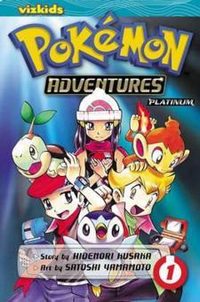 Harga Pokemon Adventures Diamond & Pearl Platinum