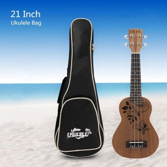 Harga 21 Inch Soft Cotton Ukulele Case Waterproof Ukelele Gig Bag - (Intl)
