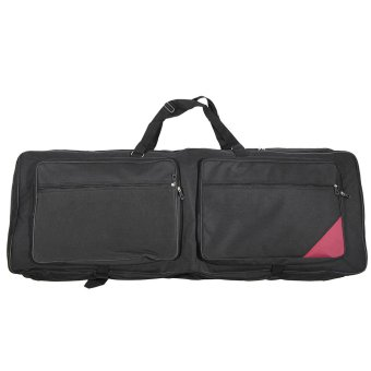 "Harga 73-Key 76-Key Keyboard Electric Piano Organ Gig Bag Soft Case 46.4"" * 16.5"" Durable 600D Cloth PE Foam Padded Dual Zipper (EXPORT)"