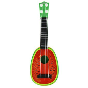 Harga Rorychen Children Early Education Puzzle Toys Musical Instruments Mini Simulation Yukeli Li Four Strings Fruit Little Guitar - intl
