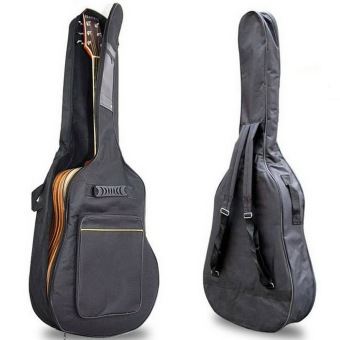 "Harga 41"" Acoustic Guitar Double Straps Padded Guitar Soft Case Gig Bag"