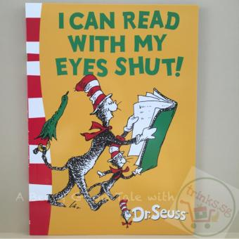 Harga I Can Read with my Eyes Shut! A Dr. Seuss Green Back Book