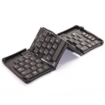 Harga Bluetooth Wireless Foldable Keyboard for Iphone/ipad Mini Keyboard for Tablet/PC/smart Phone - intl