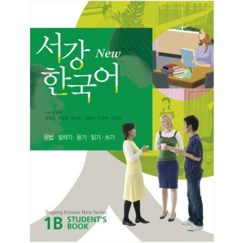 New Sogang Korean Student's Book 1B with MP3 CD (Korean Language Learning Book)(Export)