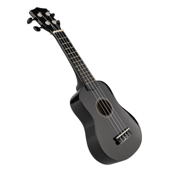 "Harga OEM 21"" Acoustic Strings Ukulele (Black) (EXPORT)"