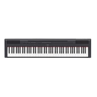 Harga Yamaha P-115B Digital Piano (Black) - Gig Bundle