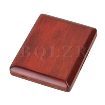 Harga Nature Finish Solid Wood Bassoon Reed Case