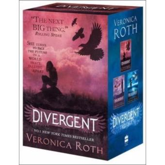 Harga Divergent Boxed Set 1-3 (New Cover)