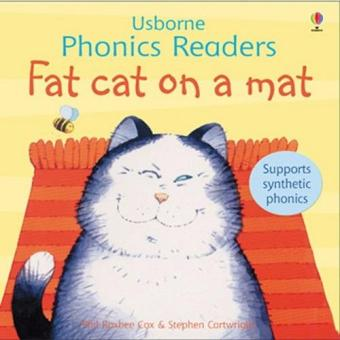 Harga Usborne Phonics - Fat Cat on a Mat Book