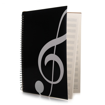 Harga Stave Book Music Sheet Manuscript Paper A4 40 Pages Black