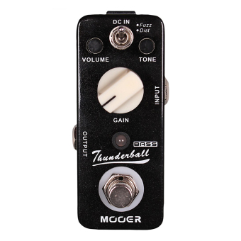 Harga Mooer Thunderball Bass Fuzz Electric Guitar Effect Pedal True Bypass MOD3