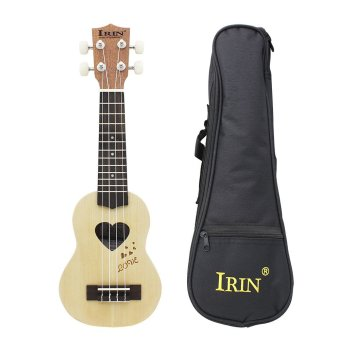 "Harga 17"" Mini Ukelele Ukulele Spruce/Sapele Top Rosewood Fretboard Stringed Instrument 4 Strings with Gig Bag Outdoorfree (EXPORT)"