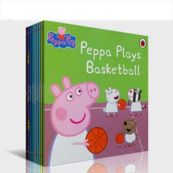 Series 2 Ladybird Peppa Pig Story Book Set - Early Education Enrichment English for 1-7 Years