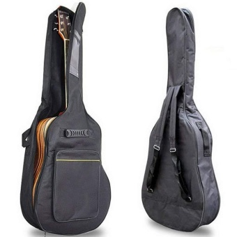 Thickening Backpack Double Straps Waterproof Acoustic Guitar Bag Pad Oxford Soft Case for 40 41 Inch