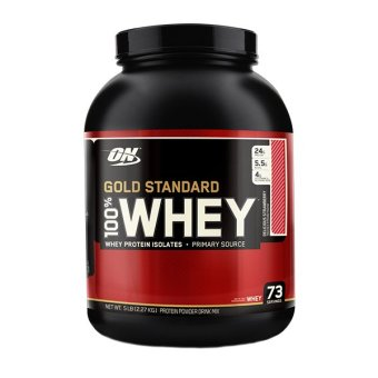 Optimum Nutrition Gold Standard 100% Whey 5 lbs Strawberry