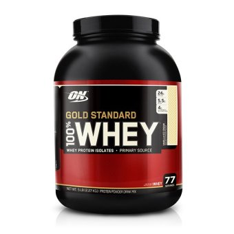 Optimum Nutrition Gold Standard 100% Whey 5 lbs Vanilla Ice Cream