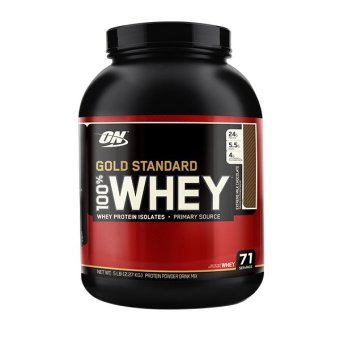 Optimum Nutrition Gold Standard 100% Whey 5 lbs - Extreme Milk Chocolate