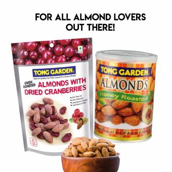 Almonds with Dried Cranberries & Honey Almonds Promotion Bundle
