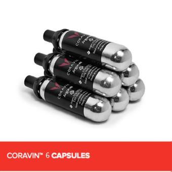 CORAVIN 6 CAPSULES (3 PACKS OF 2)
