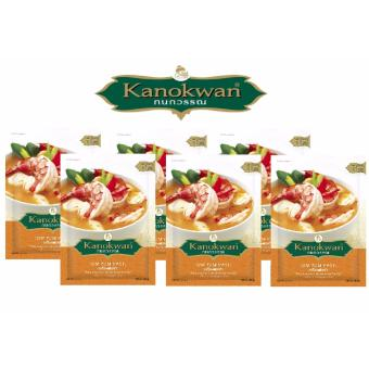 Harga Kanokwan Tom Yum Paste 30g set- 6 packs
