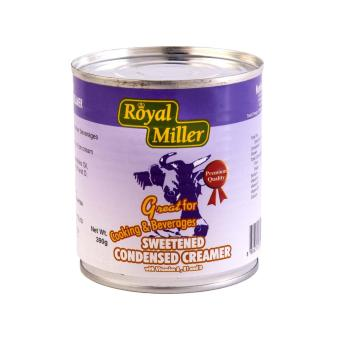Harga [Bundle of 12]Condensed Milk - Royal Miller 12x390g