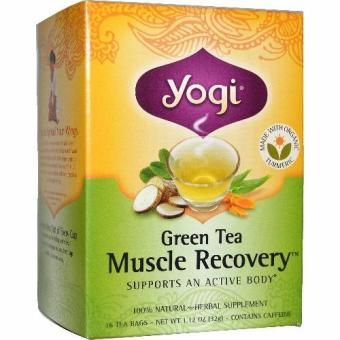 Harga Yogi Tea, Green Tea Muscle Recovery, 16 Tea Bags