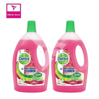 Harga Dettol Multi Surface Cleaner Jasmine 2.5L Twin Pack