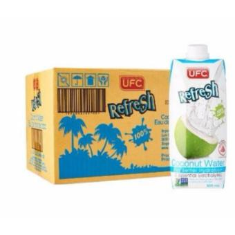 Harga UFC Refresh 100% Natural Coconut Water - Case 500ml